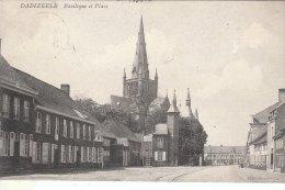 Cpa/pk Fotokaart 1908 Dadizeele Dadizele Basilique Et Place - Menen