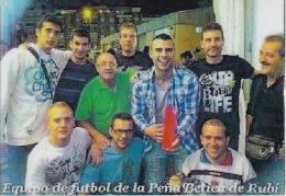 España--Barcelona--Futbol-- Peña Betica De Rubi - Tamaño Pequeño : 2001-...