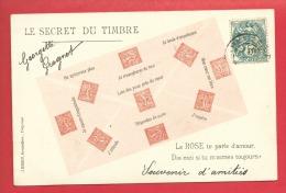 """Le Secret Du Timbre """"LA ROSE TE PARLE D'AMOUR, Dis Mois ...."""" - Timbres (représentations)"""