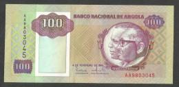 [NC] BANCO NATIONAL De ANGOLA - 100 KWANZAS (1991) - Angola