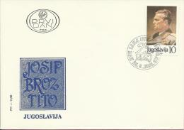 25 May, Beograd, 25.5.1985., Yugoslavia , FDC PTT-11/85 - FDC