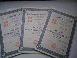 LA SAVOISIENNE (3 Titres Differents) - Unclassified