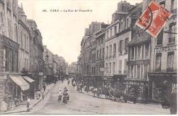 CAEN - La Rue De Vaucelles - Caen