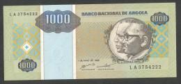 [NC] BANCO NATIONAL De ANGOLA - 1000 KWANZAS (1995) - Angola