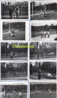 LOT 21 OUDE FOTO'S WESTMALLE JAREN '40 ** LOT  21 ANCIENNE PHOTO  **  SPORT VOETBAL FOOTBALL HOCKEY VELO CAMPING TENT - Sports