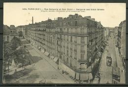 CP - PARIS : RUE GERGOVIE ET RUE DIDOT - Arrondissement: 19
