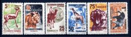 A2417) Spanische Post Tanger 6 Verschiedene Marken ** Unused MNH - Briefmarken