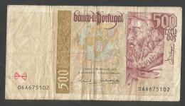 [NC] BANCO De PORTUGAL - 500 ESCUDOS (1997) - Portogallo