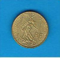 FRANCIA - FRANCE # EUROS -  10 Cents - Centimos De Euro 1999 - France