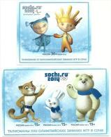 2012 - Russia - Olimpiadi Di Sochi, - Inverno 2014: Sotchi