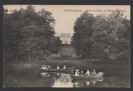 DF / 45 LOIRET / OLIVET / BORDS DU LOIRET, LE CHÂTEAU DU TARTRE / TRES ANIMÉE / CIRCULÉE EN 1906 - France