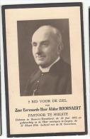 Alidoor HOORNAZER Pastoor Hulste Geb. Beveren Roeselare 1885 Izegem 1956 Priester Brugge Blankenberghe Staden Dikkebus - Images Religieuses