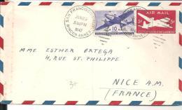 Entier Postal AIR MAIL Du 29 Juin 1947 De SAN FRANCISCO Pour NICE - Lettres & Documents