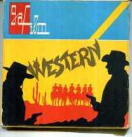 GAF FILM 705 WESTERN SUPER 8 BIANCO NERO SONORO CACCIA ALLO STRANIERO