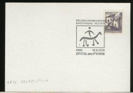 OSTERREICH  -  ARTE PALEOLITICA  -  ROCK PAINTING  -  Pittura Rupestre - Archaeology