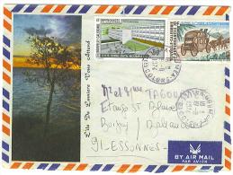 VEND LETTRE DE NOUVELLE-CALEDONIE , P.A. N° 146 + 153 !!!! - Briefe U. Dokumente
