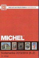 Band 3/2 K-Z Süd-Amerika Briefmarke Michel Katalog 2014 Neu 79€ Paraguay Peru Surinam Uruguay Catalogue Of South-America - Collections