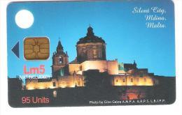 Malta - Malte - Mdina - Silent City - Church - Malta