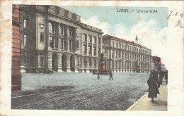 Cpa/pk 1905 Liège Liége Luik Université KLEUR COLOR - Liege