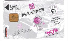 Malta - Malte - Bank Of Valletta - Malta