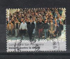 San Marino    -   2000.  Lotta Alla Droga .  Comunità  San Patrignano. Fight Against Drugs. High Value. - Droga