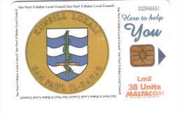 """Malta - Malte - Local Council Of St.Paul""""s Bay - San Pawl - Malta"""