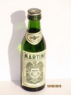 Mignonnette Martini Blanc Extra Dry En Verre 50 Ml - Miniatures