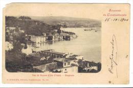 500/78 - TURCHIA , CONSTANTINOPLE Vue De Beycos . Levante Austriaco . Difettosa - Turchia