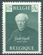 BELGIQUE - 1949 - MNH/***- LUXE -GUIDO GEZELLE - COB 813 -  Lot 8785 - Bélgica