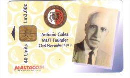 Malta - Malte - Antonio Galea MUT Founder - Malta