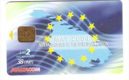 Malta - Malte - May 2004 -  Malta Member Of The European Union - Malta