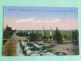 WESTLICHER KRIEGSSCHAUPLATZ - Grobes Grab Von Deutschen Und Francosen Bei Morchingen - France