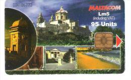 Malta - Malte - Fortifications In Malta - Malta