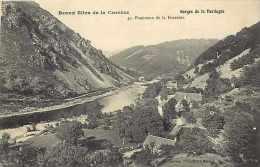 Corrèze -  A26 - La Ferrière - Gorges De La Dordogne - Panorama - Carte  Bon état - - Other Municipalities