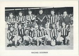 Racing  Doornik    (  Chromo 12.5 X 9 Cm )  !!  Geen Postkaart - Voetbal