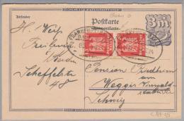 Heimat DE Bahnlinie Frankfurt-Basel 1924-07-06 Zug 8b Auf GS Nach Weggis - Deutschland