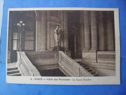 75-paris, HOTEL DES MONNAIES , Le Grand Escalier - Monuments