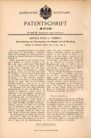 Original Patentschrift - A. Dold In Triberg , 1895 , Apparat Zur Erzeugung Von Dampf Durch Reibung !!! - Maschinen
