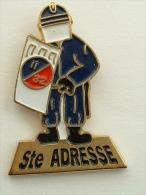 PIN´S POLICE - CRS 32 SAINTE ADRESSE LE HAVRE - Politie