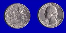 ETATS UNIS * QUATER DOLLAR *WASHINGTON*ANNEE 1976 (D) - Émissions Fédérales