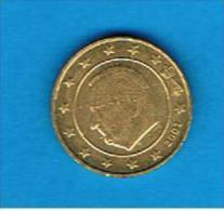 BELGICA / BELGIQUE # EUROS #  10 Cents - Centimos De Euro 2001 - Bélgica