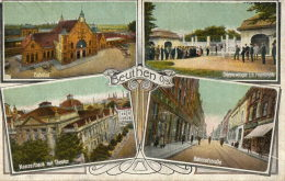 BEUTHEN BYTOM (Pologne) Carte à 4 Vues - Pologne