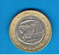 GRECIA  # EUROS #  1 Euro 2002 - Grèce