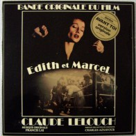 EDITH PIAF AZNAVOUR C LELOUCH Francis LAI Double LP BOF Edith & Marcel Avant Toi - New Age