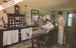 Canada Barber Shop Heritage Park Calgary Alberta
