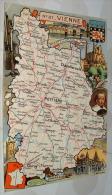 Carte De La Vienne Departement - France