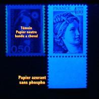 N°2127**_sans Phospho Bord De Feuille_papier Azurant_voir Scan_cote 80.00 - 1977-81 Sabine De Gandon