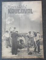 HRVATSKI KRUGOVAL, NDH BROJ 2  1942 - Other