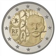 2 Euro COMMEMORATIVE FRANCE 2013 Pierre De Coubertin  DISPO DE SUITE - Francia