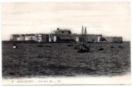 CP, ALEXANDRIE, Le Fort Kait Bey, Vierge - Alexandria